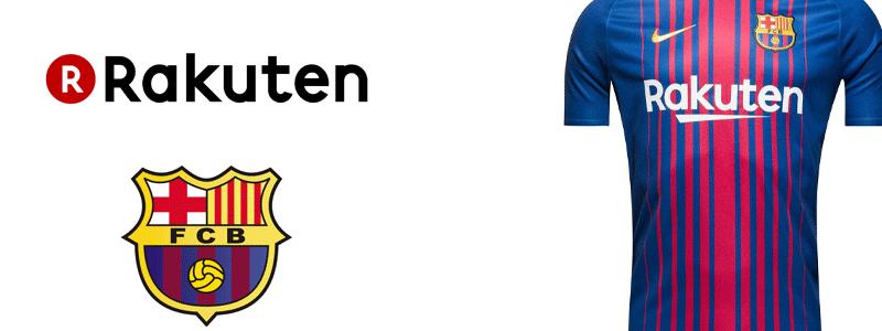 Rakuten ist Hauptsponsor bei FC Barcelona