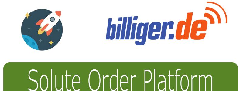 billiger wird zum Marktplatz mit der Solute Order Platform (SOP)